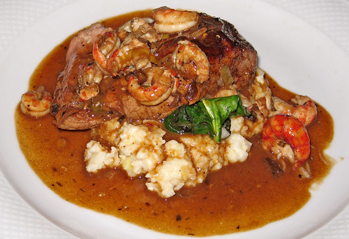 Veal with Breaux Bridge Crawfish