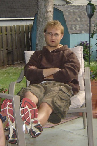 Jesse at the BBQ