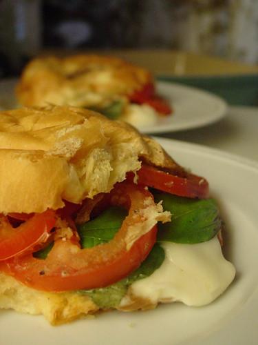 Sandwich Tomato Mozzarella