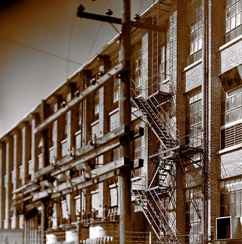 bricks and ladders