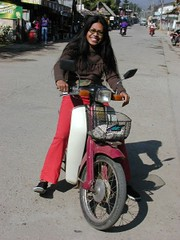Pai and bike