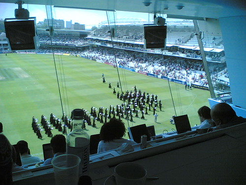 Media centre at Lord's