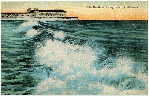 Postcard: Long Beach Breakers