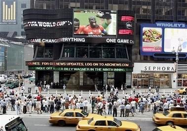 Gana na Times Square