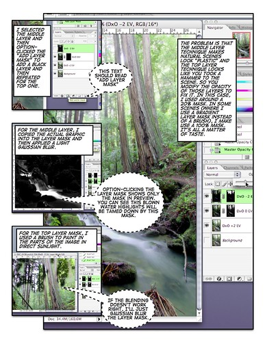 Digital blending tutorial. Page 3: blending