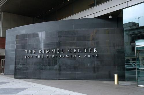 The Kimmel Center, Philadelphia