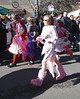 girls in the parade
