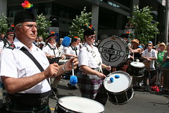 Church Street Pipe Band, five