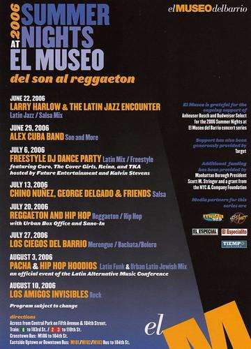 2006 Summer Nights El Museo