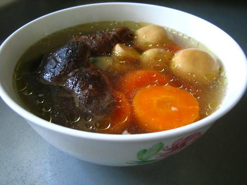 Sparerib Mushroom Soup
