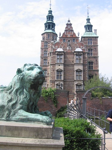 Lion and Rosenborg Castle