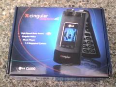 LG CU500 Box