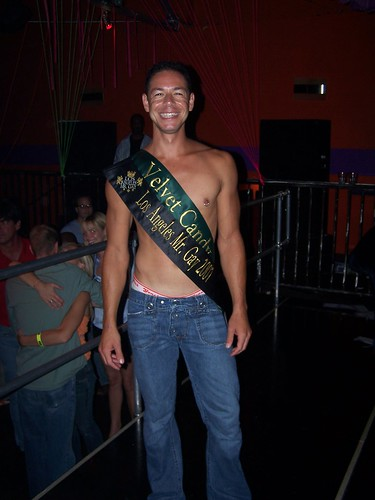 ... the Mr. Gay LA contest. Here are some photos and videos from the event.