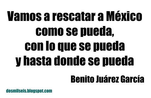 Rescatar a México