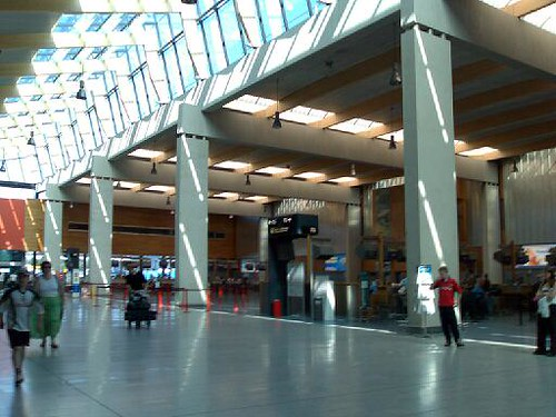 The Interior of the Shannon Airport