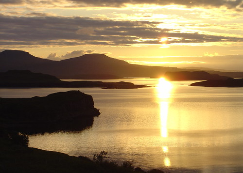 Sunset Over Loch Bracadale