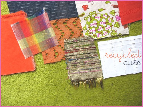 recycled cute collection fabrics