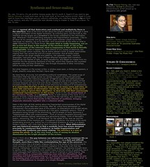 The new design of my blog