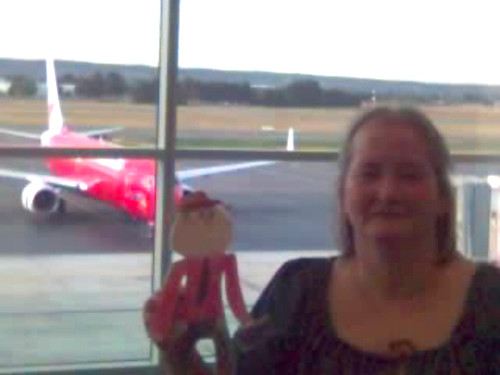 Stanley at Adelaide Airport