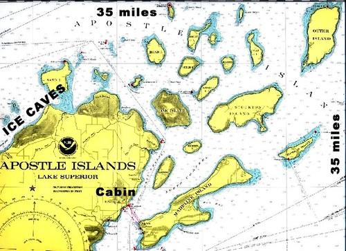 Apostle Islands chart