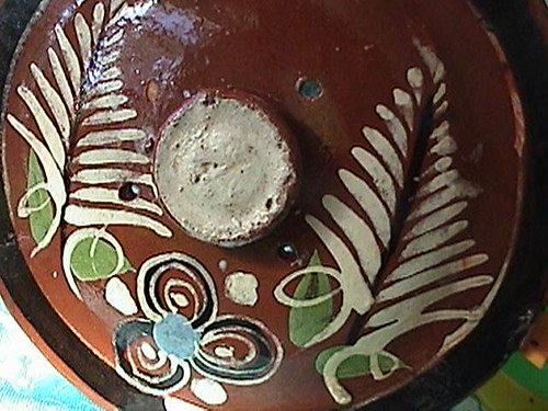 Vintage Mexican Redware