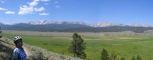fisher creek trail11 mountain panorama