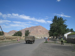 Khovd city.