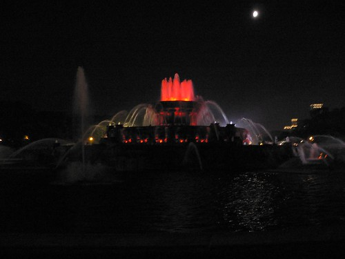 Fountain (in red)