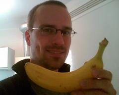 Henning mit Banane 2