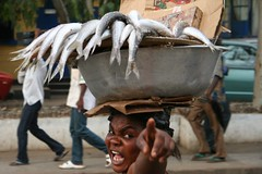 Smelly fish in Ghana photo by Ferdinand Reus