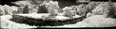 Humber River in infrared