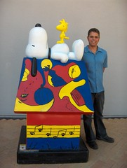 Snoopy, Woodstock, And Friend