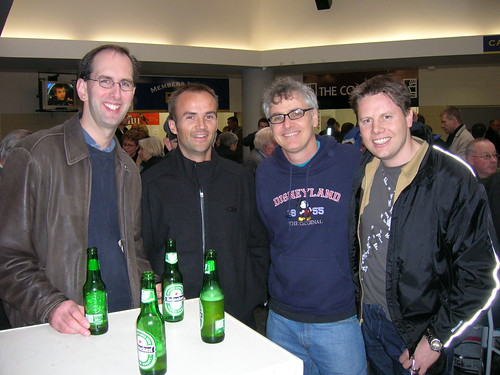 Scott Guthrie, Rowan Simpson, Dean Wills, Nigel Parker