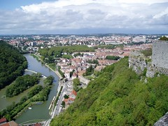 View from Besancon Citadelle