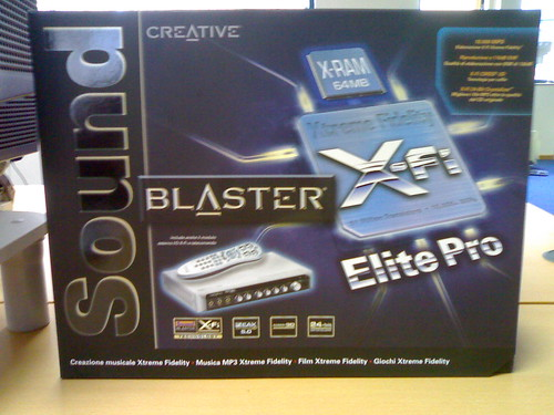 New soundcard