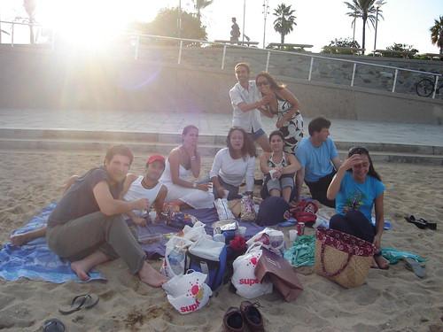 Cumpleaños en la playa
