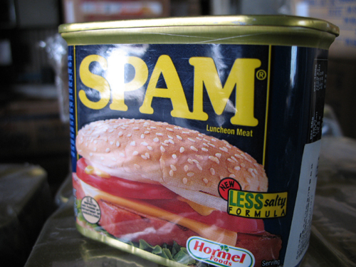is SPAM famous in American?