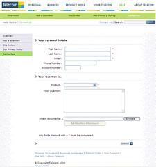 060831 Telecom contact page