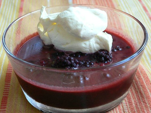 Caramelised Blackberry Compote