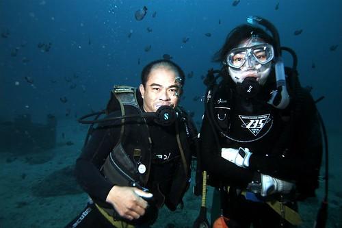 Eddie 導潛是 Balai 的第一把交椅,少了他會少掉很多潛水樂趣