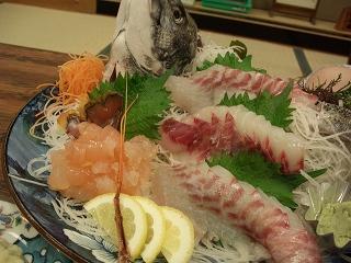 20060520 魚半日吉苑 夕食 刺身