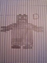 robot pattern D