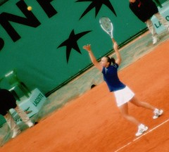 Jeg så Martina Hingis i French Open 2000