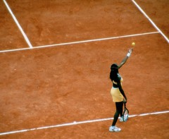 Venus Williams, French Open 2000