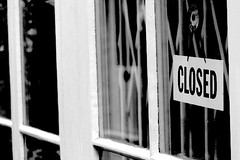 Closed.   Photo by Jasoon.
