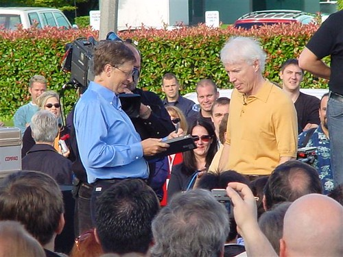 Bill Gates and Jim Allchin
