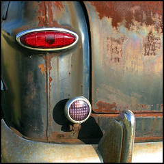 tail lights photo by Lorrie McClanahan