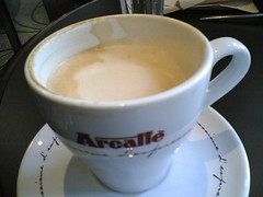 First cup of coffee of the day at Take5
