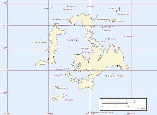 Peng-hu Tao - Map (Middle)