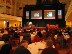 Webstock in the Town Hall Auditorium